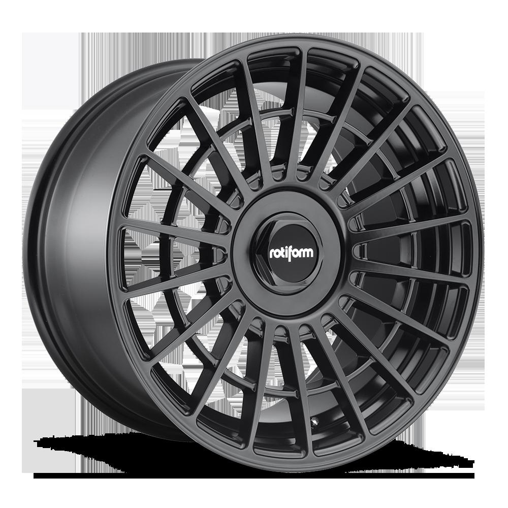 Литые диски Rotiform LAS-R 19x8,5 20x8,5 черный матовый
